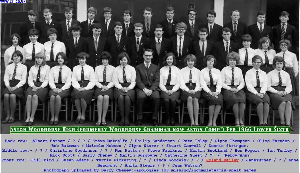 class photo woodhouse grammar