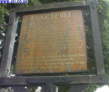 harthill village sign