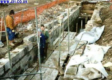 canal locks being restored