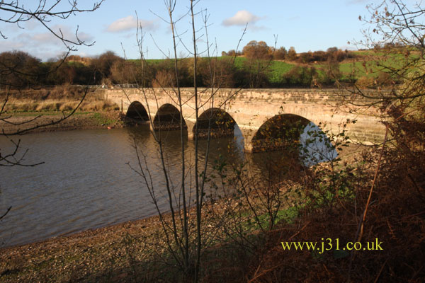 bridge on ulley reservoir
