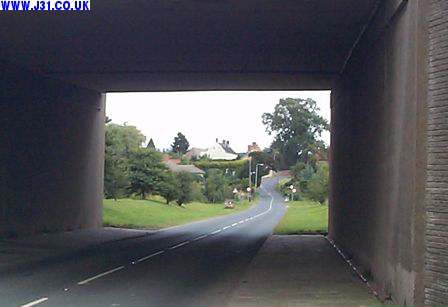 motorway bridge woodall